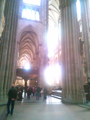 大聖堂の中