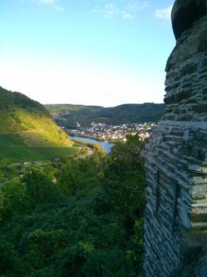 ライヒスブルク城からの風景