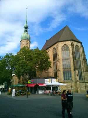 ドルトムントの教会。