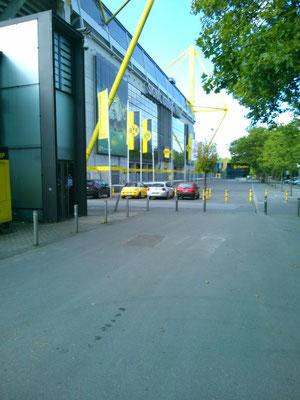 スタジアムの入り口。