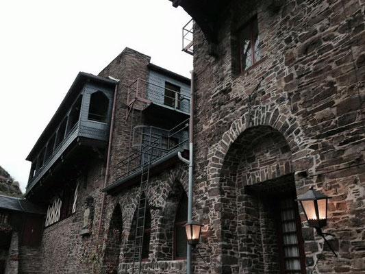 古城ホテルの外観。