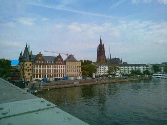 アイゼルナー橋からの風景