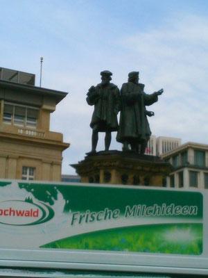 フランクフルトの街の風景
