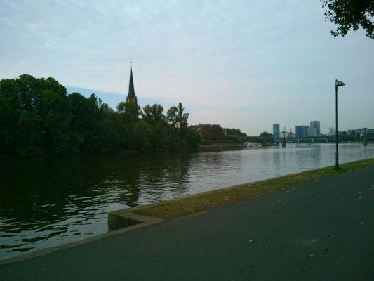 マイン川の風景