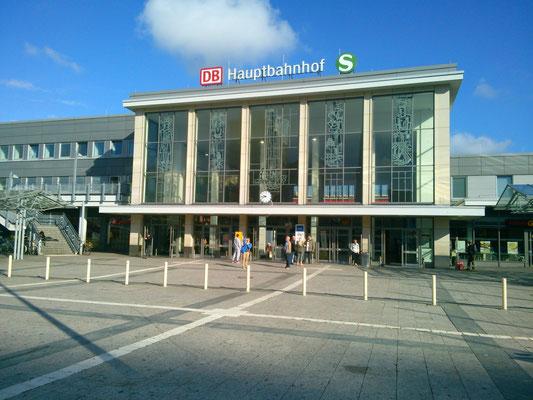ドルトムントの中央駅。