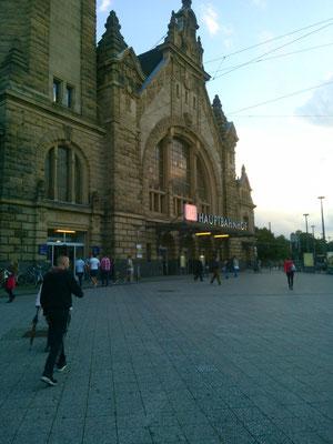 クレーフェルトの中央駅。