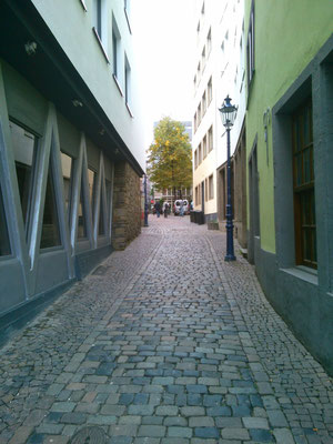 ケルンの街並み。