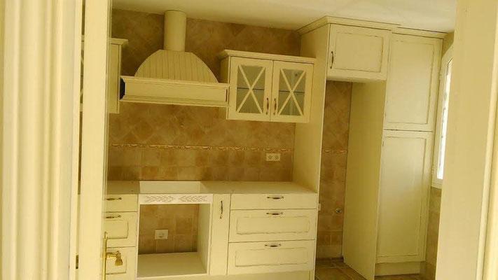 cocina montada en guadalajara roble macizo lacado de primera calidad todo perfecto