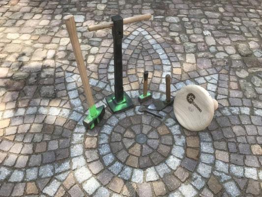 Freiburger Gartenbau Gelsomino - Ornament mit althistorischem Pflaster