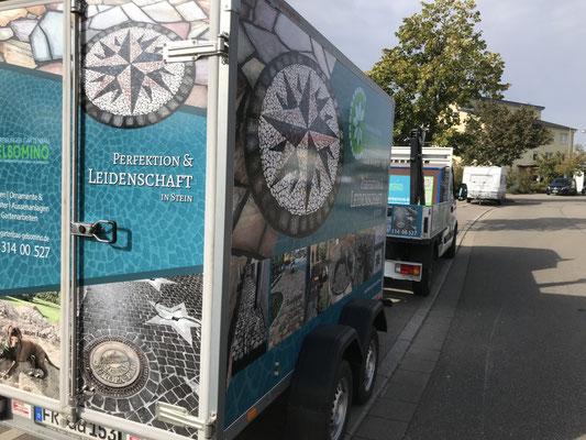 designed by klick4 | Werbung Koffereranghänger von Freiburger Gartenbau Gelsomino