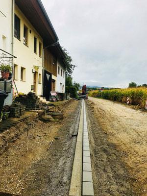 Freiburger Gartenbau Gelsomino Aussenanlage - Strassenbau