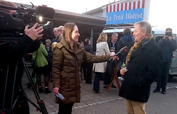 Interview mit Schweizer Fernsehen SRF