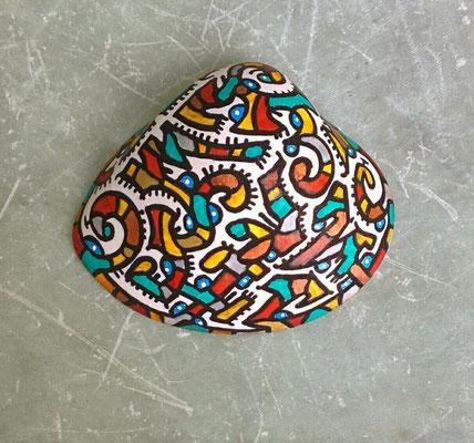 coquillage peint, Thaïlande