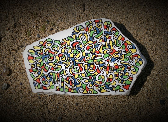 Granite peint / Turquie