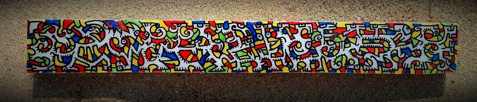 Marbre peint / Turquie