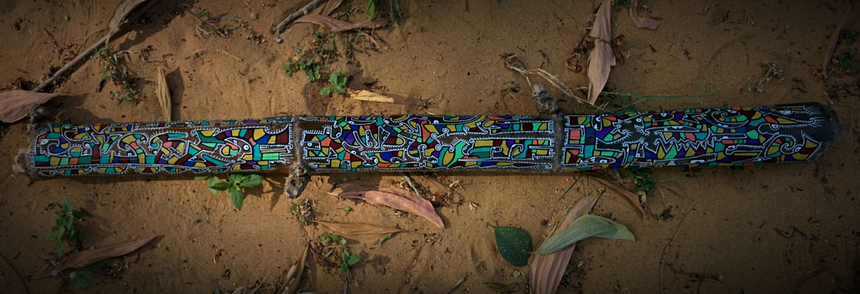 bambou peint, Thaïlande