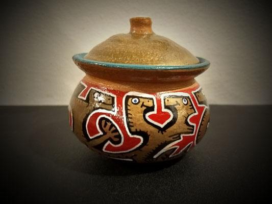 petit pot en terre cuite / thaïlande