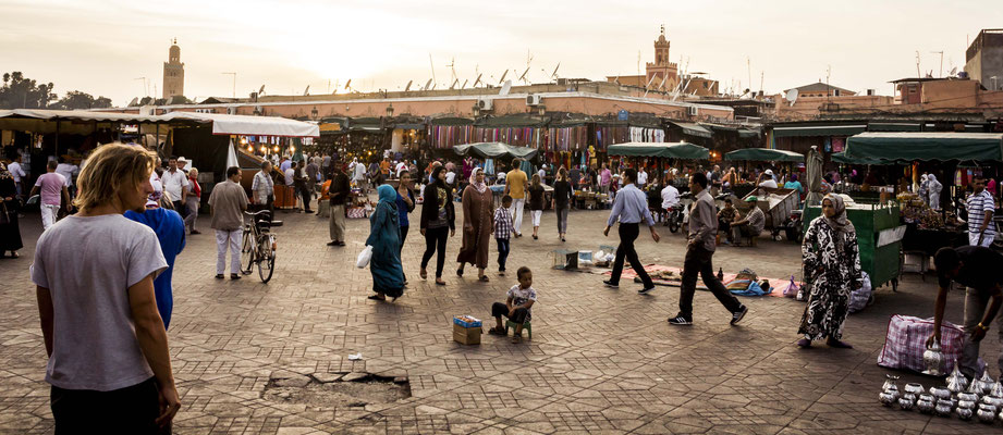 Djemaa el Fna Square, Marrakech.
