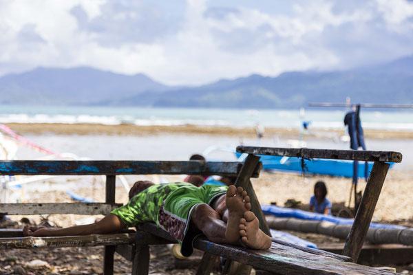 Sabang, Philippines.