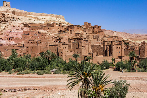 Ksar Ait Benhaddou Kasbah near Ouarzazate.