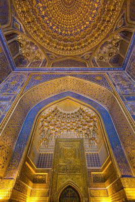 Inside Registan, Samarkand.