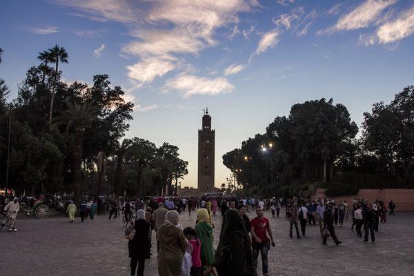 Kutubiyya Mosque in Marrekech.