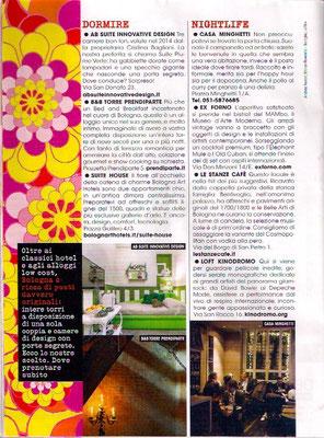 articolo AB SUITE sulla rivista Glamour