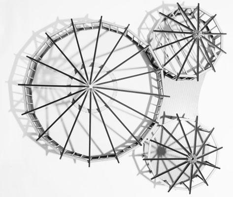 Modell Sparrenkonstruktion