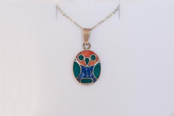Die Eule symbolisiert  Weisheit und Klarheit.