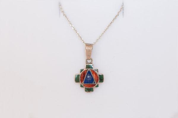 Das Andenkreuz ist das Symbol der vier Himmelsrichtungen