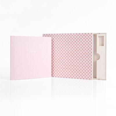 Babyfotobuch rosa