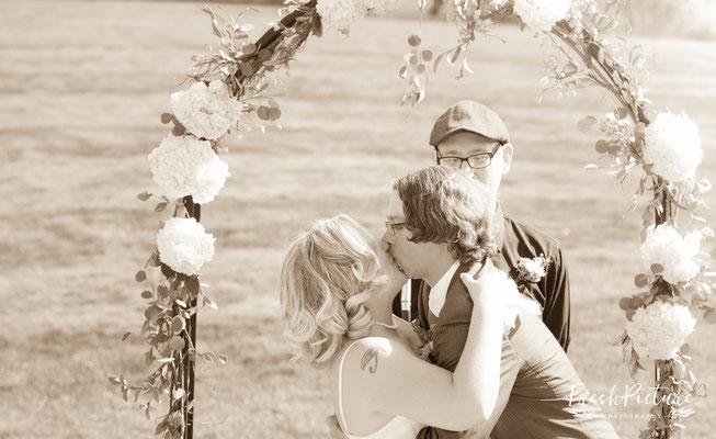 First Kiss , erster Kuss