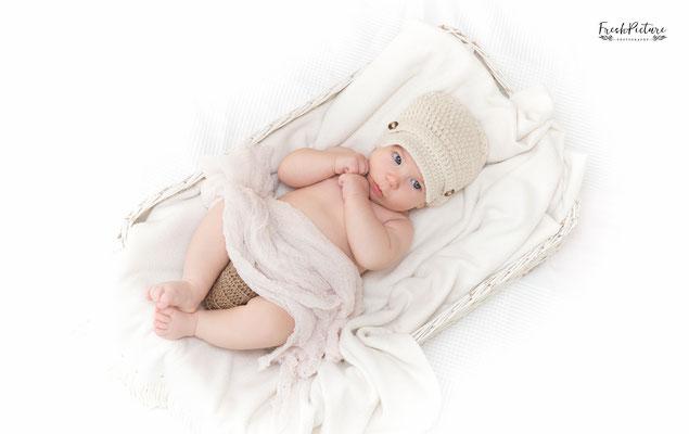 Babyfoto von Jungen