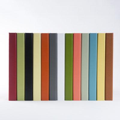 Fotobuch in vielen unterschiedlichen Farben und Materialien