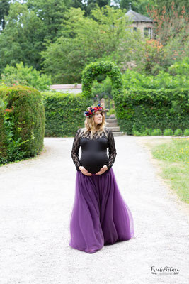 Was soll ich bei den Babybauchfotos anziehen?