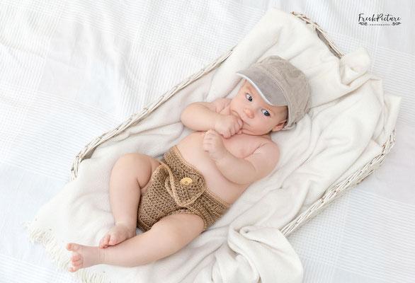 Foto von drei Monate altem Jungen