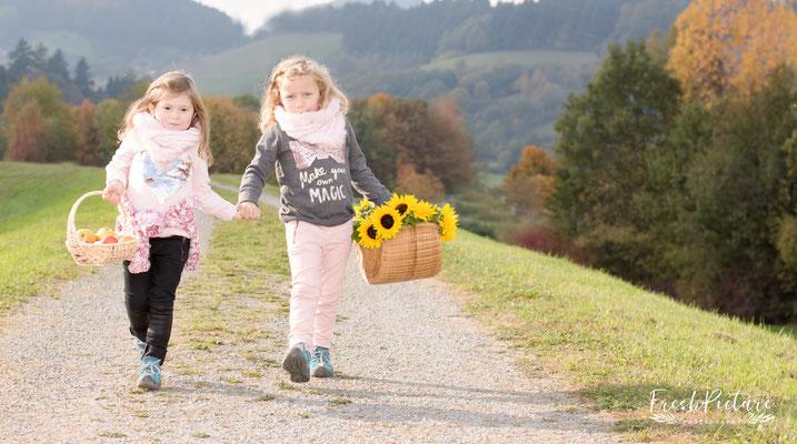 Geschwisterbilder in der Natur