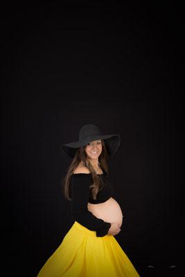 Was für Babybauchfotos anziehen