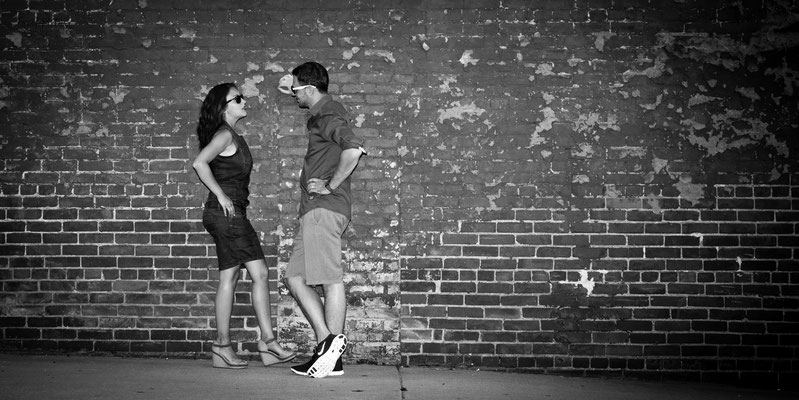 BlackWhite Engagement Photography Germany