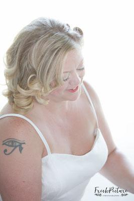 Beautiful Bridal Portrait, tolles Brautportrait