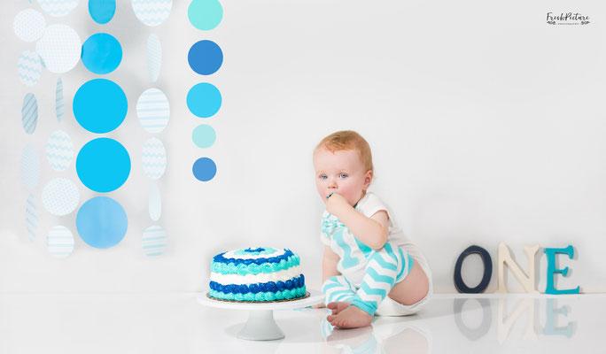 Deko Ideen Cake Smash für Buben