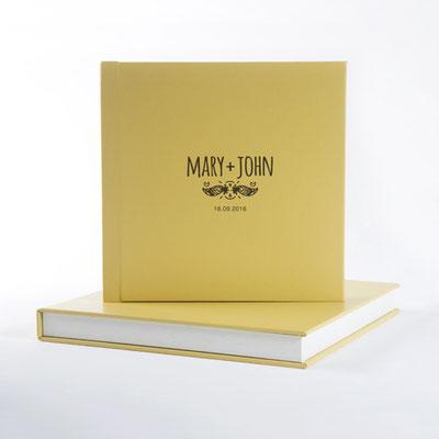 Fotobuch für die Hochzeit