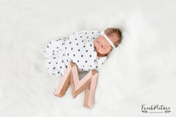 Newborn Girl Photography.