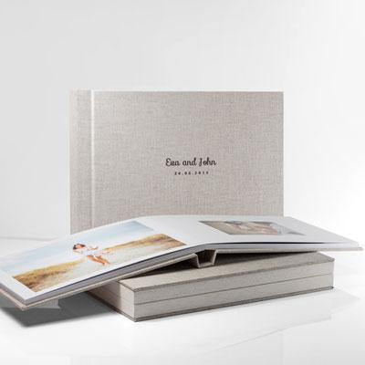 Fotobuch aus edlem Leinen