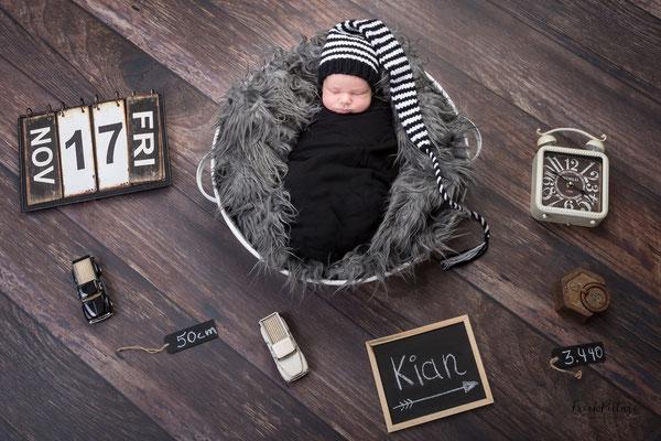 Fotostudio Neugeborene Lahr