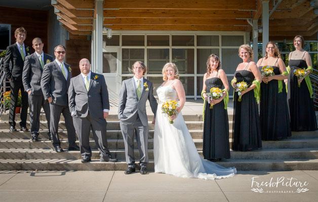 Bridesmaid and best men, Trauzeugen Fotos, Bridesmaids