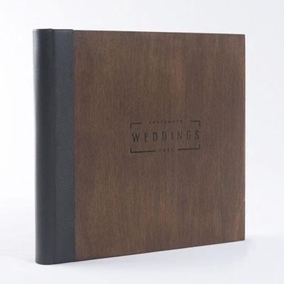 Fotobuch aus Echtholz
