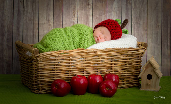 Girl Newborn Lahr Photography