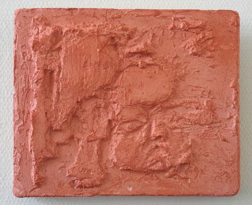 Waskindje - gips - 14 x 17 cm