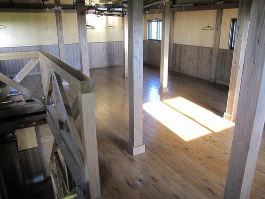 避難小屋2階
